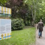 Orientierungstafeln an den Ein- und Ausgängen. Foto: hmf, Petra Welzel