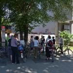 Fahrradtour durch die Wallanlagen. Foto: hmf